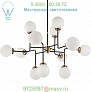 Visual Comfort Bistro Medium Chandelier S 5022HAB-WG, светильник